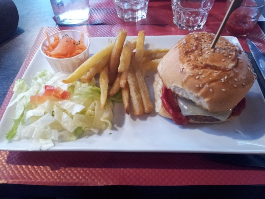 burger végétarien studio 5