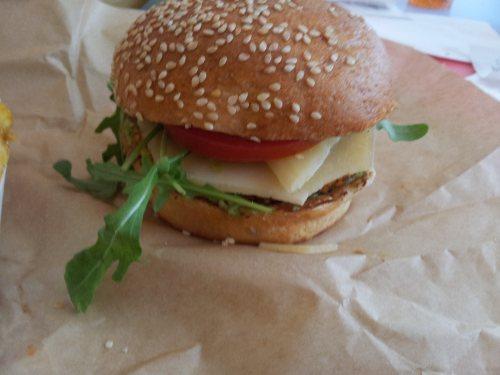 burger vegétarien