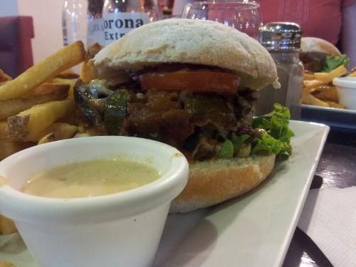 burger vegetarien chez Amour de burger