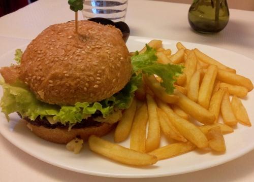 burger vegan lovin-hut