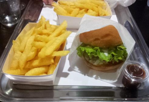 burger falafel b&m