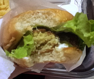bm burger végé
