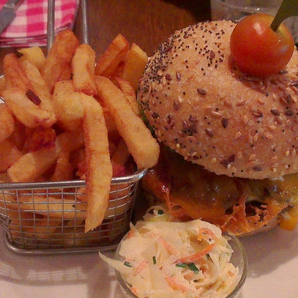 burger vegetarien loulous