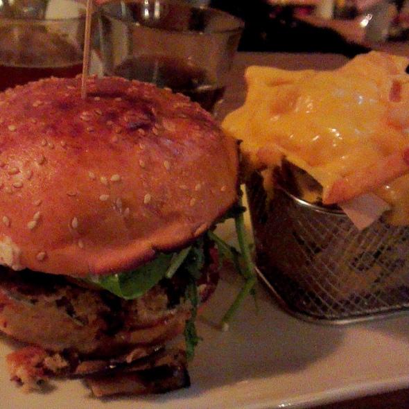 mamie burger végétarien