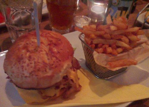 mamie burger frites veggie