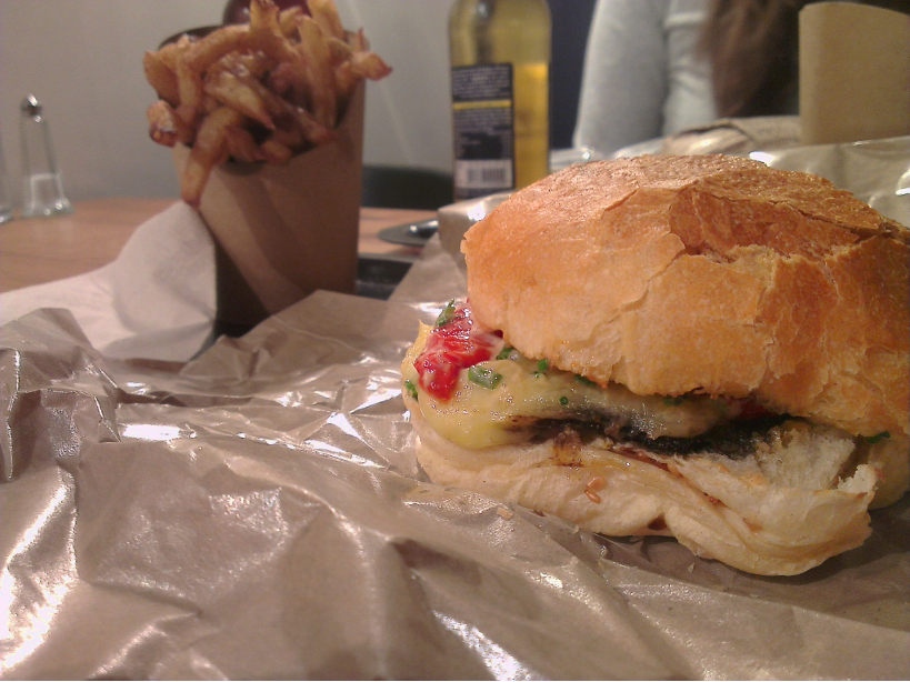 big fernand burger végétarien lucien