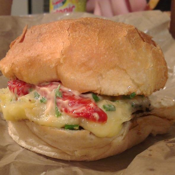 burger végétarien lucien big fernand