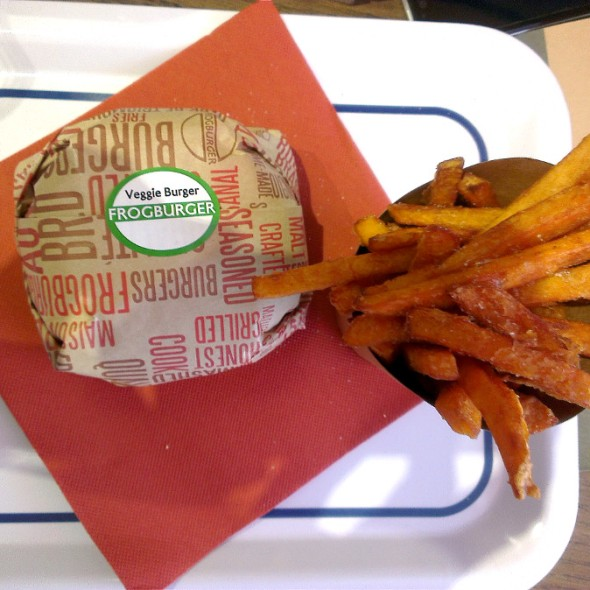 frogburger végétarien