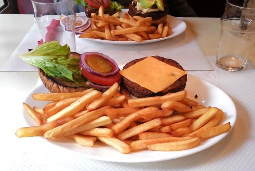 veggie burger breakfast in america 2