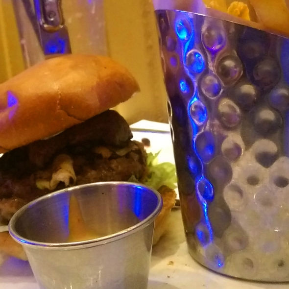 Burger végétarien du Hard Rock Café