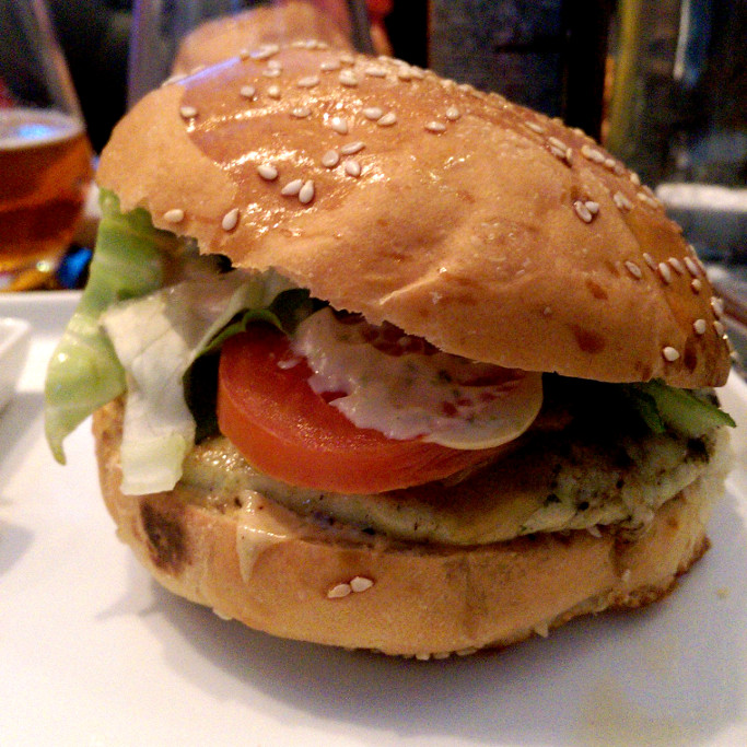 burger veggie du clyde