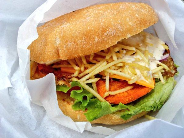 Burger végétarien de Si Senor