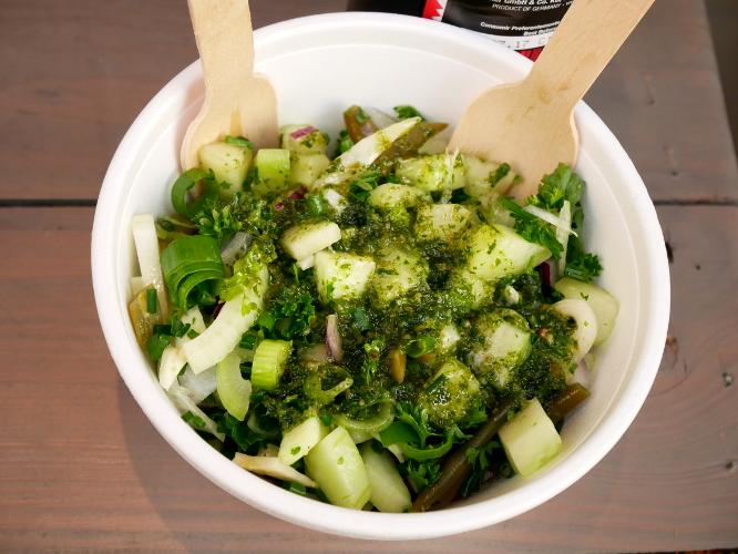 salade de la boucherie végétarienne