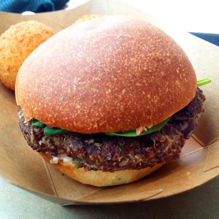 burger vegan de season square