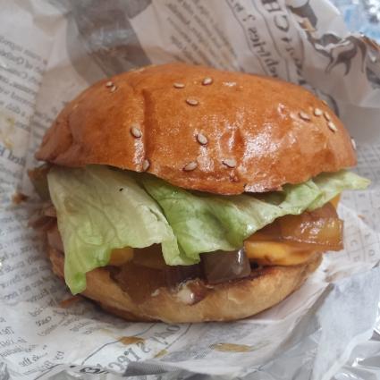 burger végétarien burger et fils