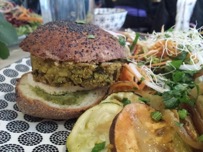 burger végétarien 5lorette