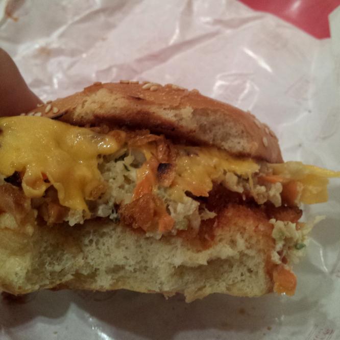burger veggie d'It rock (intérieur)